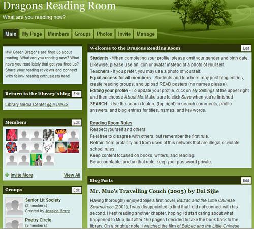 Dragons Reading Room