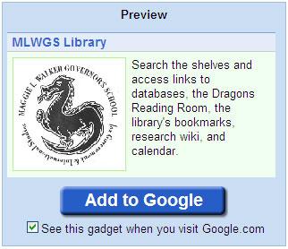 igoogle mw library gadget