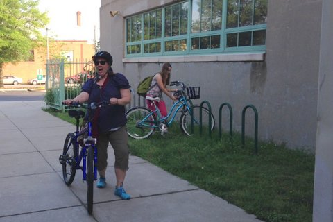 Bike to School Day 2014