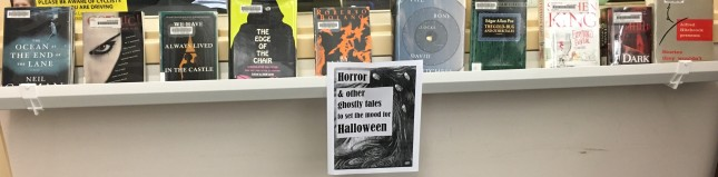 scary books for Halloween